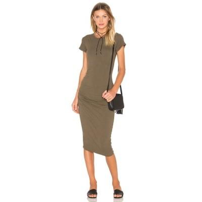 【残り1点!】【サイズ:1-XS-S】ジェームス パース James Perse レディース ワンピース・ドレス ワンピース Classic Skinny Dress