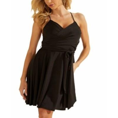 ゲス レディース ワンピース トップス Lysandra Sleeveless Dress Jet Black