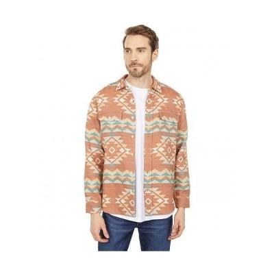 Pendleton ペンドルトン メンズ 男性用 ファッション ボタンシャツ Beach Shack Shirt Print - Terra Cotta Multi