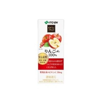 伊藤園 ビタミンフルーツ りんごミックス 紙パック (200ml*24本入)