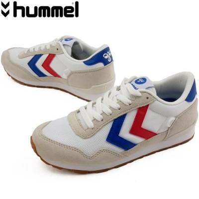 ヒュンメル hummel スニーカー レディース 65307 リフレックス ローカット ホワイト 靴
