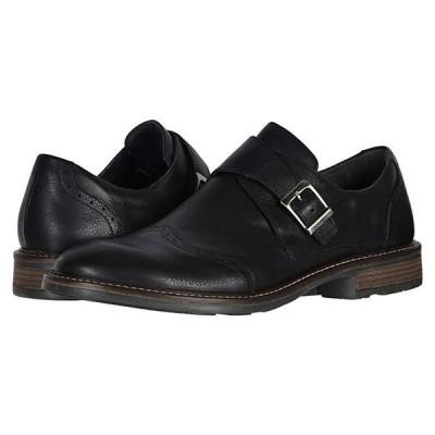 Naot Evidence メンズ オックスフォード Soft Black Leather