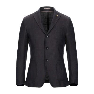 パオローニ PAOLONI テーラードジャケット ブラウン 54 ウール 51% / コットン 48% / ポリウレタン 1% テーラードジャケット
