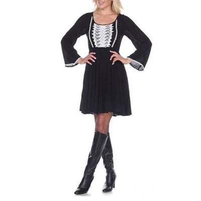 ホワイトマーク レディース ワンピース トップス Anema Embroidered Dress