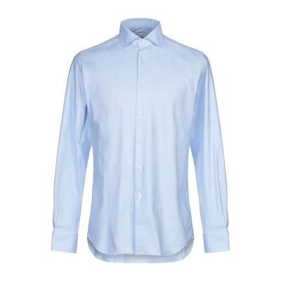 XACUS シャツ スカイブルー 45 コットン 97% / ポリウレタン 3% シャツ