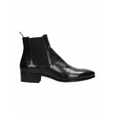 Officine Creative メンズシューズ Officine Creative Black Leather Adrian An