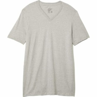 ジョッキー Jockey メンズ Tシャツ 3点セット Vネック トップス Cotton V-Neck T-Shirt 3-Pack Grey Heather