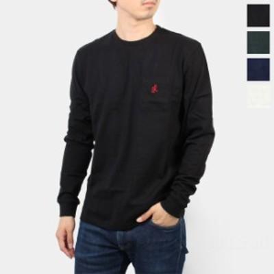 グラミチ GRAMICCI ロンT メンズ レディース ワンポイント ロングスリーブ Tシャツ ONE POINT L/S TEE GUT-20F056
