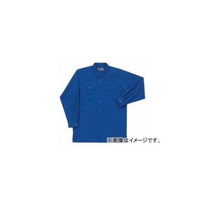 ラカン 長袖シャツ(薄地) ブルー 選べる4サイズ 5904