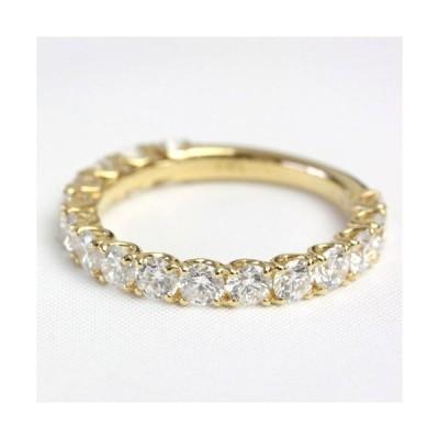 エタニティリング ダイヤ ダイヤモンド 1.5ct レディース 指輪 リング 18金 18k K18 エタニティ ダイヤリング H&C カラット ハーフエタニティ 16石
