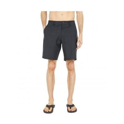 RVCA ルーカ メンズ 男性用 ファッション ショートパンツ 短パン Back in Hybrid Shorts - Black
