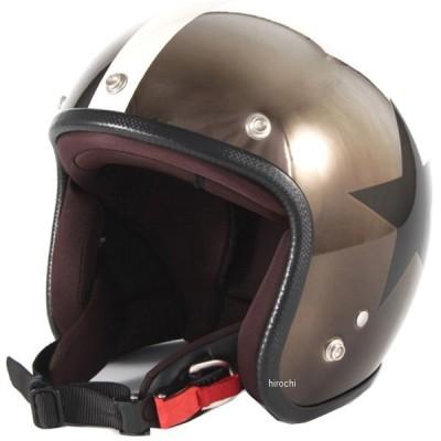 JCP-11 ナナニージャム 72JAM ジェットヘルメット カスタムペイントJAM CHROMES CLASSICAL STAR メッキ フリーサイズ(57-60cm未満) JP店