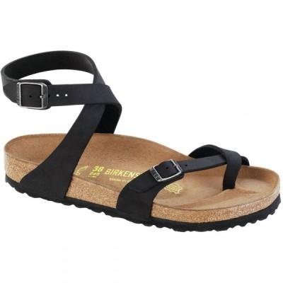 ビルケンシュトック Birkenstock レディース サンダル・ミュール シューズ・靴 Yara Limited Edition Sandal Black Oiled Leather