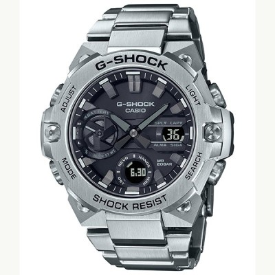 【G-SHOCK】G-STEEL GST-B400D-1AJF Bluetooth搭載 タフソーラー メンズ