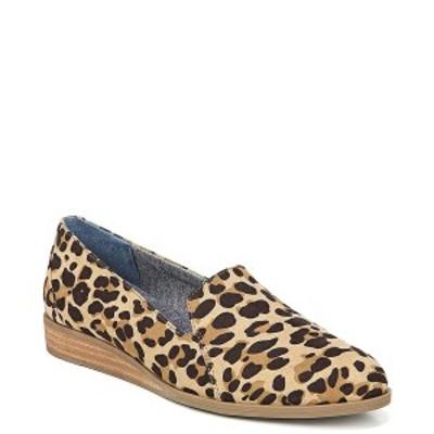 ドクター・ショール レディース サンダル シューズ Women's Dawned Peforated Wedges Tan/Black Leopard