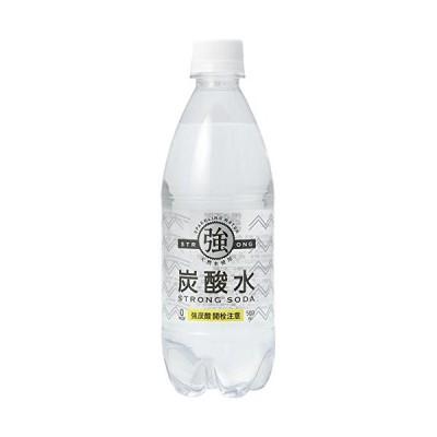 友桝飲料 強炭酸水 500ml×48本