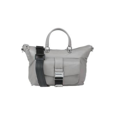 ディーゼル DIESEL ハンドバッグ ドーブグレー 羊類革 100% / 鉄 / 亜鉛 / 銅 ハンドバッグ