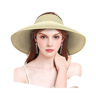 Foldable Sun Hats for Women Roll Up Wide Brim Hat Beach Hats for Women Summ