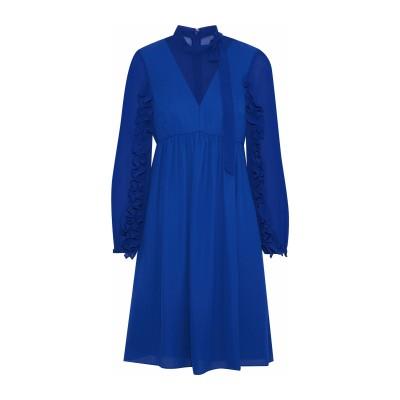 MIKAEL AGHAL ミニワンピース&ドレス ブライトブルー 0 ポリエステル 100% ミニワンピース&ドレス