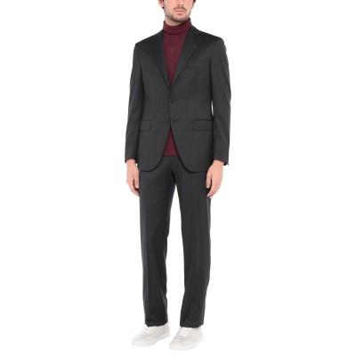 カンタレリ CANTARELLI スーツ スチールグレー 48 バージンウール 100% スーツ