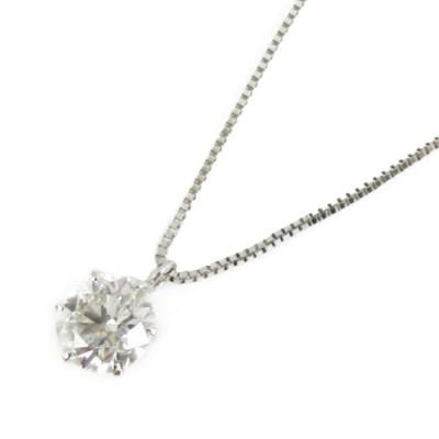 ジュエリー ダイヤモンド ネックレス PT900 プラチナxPT850プラチナxダイヤモンド1.041ct  ランクA