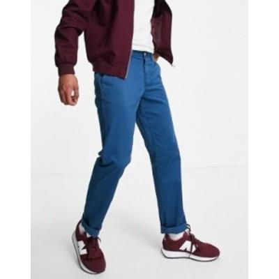 トミー ヒルフィガー メンズ カジュアルパンツ ボトムス Tommy Hilfiger custom fit chino pants Alfalfa blue