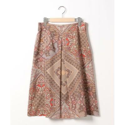 SCAPA Lサイズ/スキャパエルサイズ ブライトペーズリースカート オレンジ 44