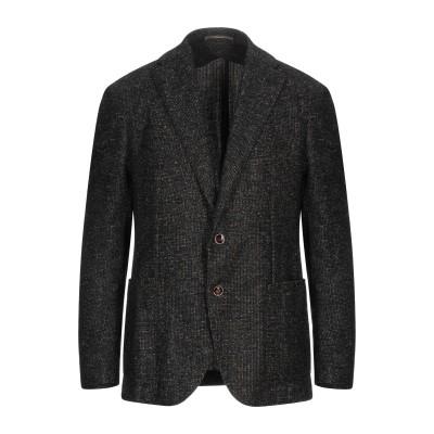 PINO LERARIO 02-05 テーラードジャケット ブラック 54 毛(ベビーアルパカ) 50% / ウール 32% / ナイロン 18%