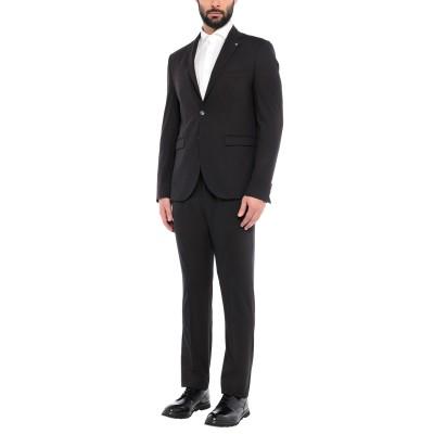 VINCENT スーツ ブラック 54 ポリエステル 65% / レーヨン 30% / ポリウレタン 5% スーツ
