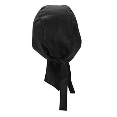 メンズ バンダナキャップ バンダナ帽 シェフ帽子 フリーサイズ 吸汗速乾 インナーキャップ 海賊 帽子 伸縮性がよい ヘッドラップ ヘッドバ