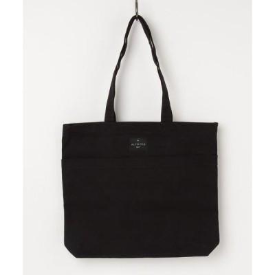 トートバッグ バッグ [ALTROSE/アルトローズ]2ポケット キャンバス トートバッグ