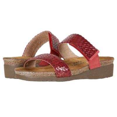 ナオト Naot レディース サンダル・ミュール シューズ・靴 Blake Red Braid Leather