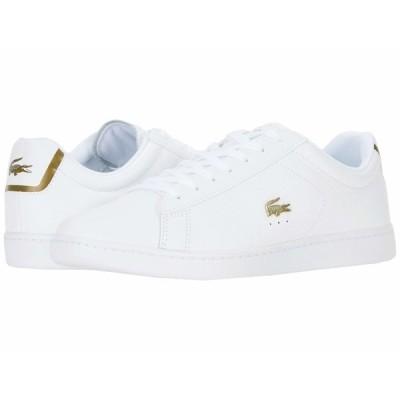 ラコステ スニーカー シューズ メンズ Carnaby Evo 0120 1 White/White