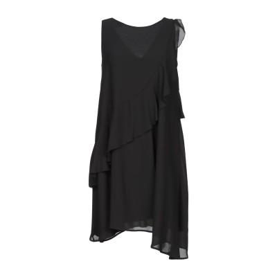 カオス KAOS ミニワンピース&ドレス ブラック 38 ポリエステル 100% ミニワンピース&ドレス