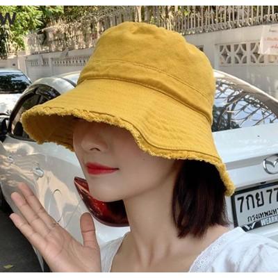 2020 新作 ハット 帽子 キャベリン つば広 オシャレ タッセル まくれ 折りたたみ 周り56~58