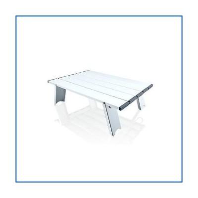 <新品>折りたたみ式アルミテーブル、ポータブルビーチ超軽量折りたたみ式ピクニックテーブル、小