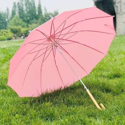 傘 長傘 雨傘 メンズ レディース 軽量 和傘 紳士傘 丈夫 大きな傘 12本骨傘 耐風傘 グラスファイバー骨 耐風 撥水 梅雨対策