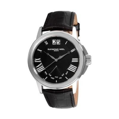 腕時計 レイモンドウィル メンズ 9576-STC-00200 Raymond Weil 9576-STC-00200 Men's Tradition Black