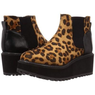 バイアシナガオジサン ブーツ 8510019 レオパード 23.0~23.5 cm