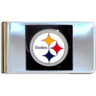 NFL ピッツバーグ・スティーラーズ スチールマネークリップ 並行輸入品