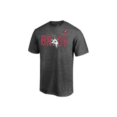 マジェスティック Tシャツ トップス メンズ Tampa Bay Buccaneers Men's Brady Legend Hometown T-Shirt Gray
