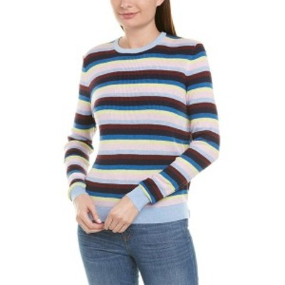 キュール レディース ニット&セーター アウター KULE The Lucia Stripe Sweater multi-color