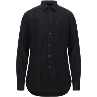 アレキサンダー マックイーン ALEXANDER MCQUEEN シャツ ブラック 16 コットン 100% シャツ