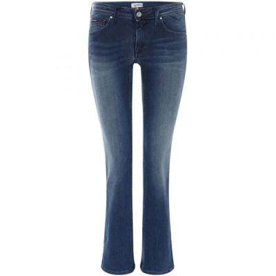 トミー ジーンズ Tommy Jeans レディース ジーンズ・デニム ボトムス・パンツ Mid Rise Straight Fit Sandy Jeans Blue