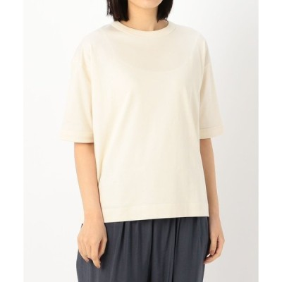 tシャツ Tシャツ 【handvaerk】クルーネック ショートスリーブTシャツ WOMEN