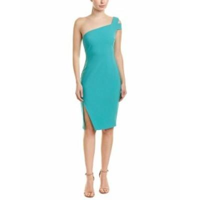 LIKELY ライクリー ファッション ドレス Likely One-Shoulder Sheath Dress 0 Green