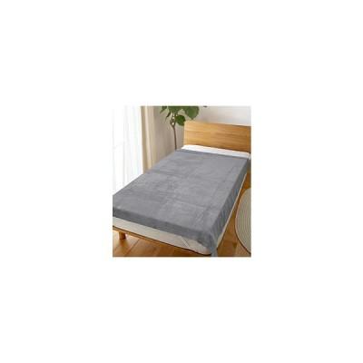 【タオルケット】ホテルタイプふんわりやわらかタオルケット 無地 シングルサイズ(150×200cm/グレー)  グレー 958127GY [150x200cm /シングルサイ…