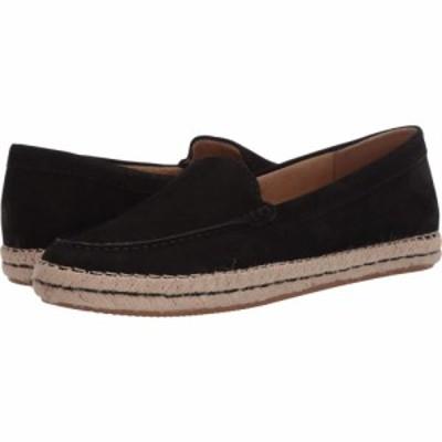 ナチュラライザー Naturalizer レディース ローファー・オックスフォード シューズ・靴 Alexa Black Waxy Nubuck