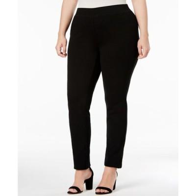 アイエヌシーインターナショナルコンセプト レディース カジュアルパンツ ボトムス INC Plus Size Skinny Pull-On Ponte Pants