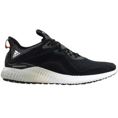アディダス メンズ スニーカー シューズ Alphabounce Running Shoes Core Black
